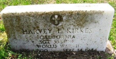 KIRKES, HARVEY EUGENE (VETERAN WWII, KIA) - Latimer County, Oklahoma | HARVEY EUGENE (VETERAN WWII, KIA) KIRKES - Oklahoma Gravestone Photos