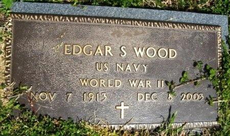 WOOD, EDGAR SCOTT (WWII) - Latimer County, Oklahoma | EDGAR SCOTT (WWII) WOOD - Oklahoma Gravestone Photos