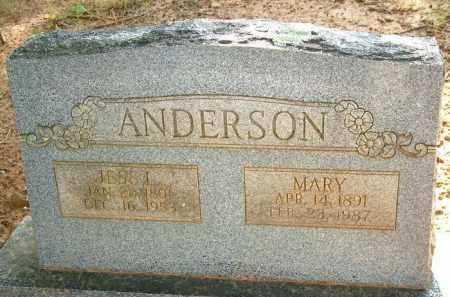 ANDERSON, MARY - Le Flore County, Oklahoma | MARY ANDERSON - Oklahoma Gravestone Photos