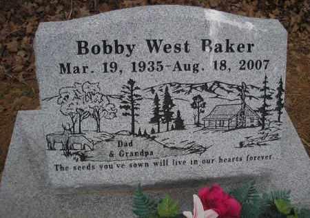 BAKER, BOBBY WEST - Le Flore County, Oklahoma | BOBBY WEST BAKER - Oklahoma Gravestone Photos