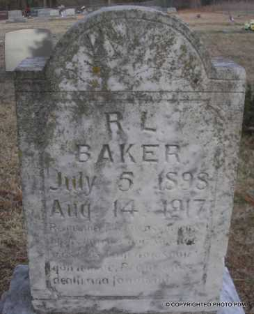 BAKER, R  L - Le Flore County, Oklahoma | R  L BAKER - Oklahoma Gravestone Photos