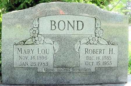 BOND, MARY LOU - Le Flore County, Oklahoma   MARY LOU BOND - Oklahoma Gravestone Photos