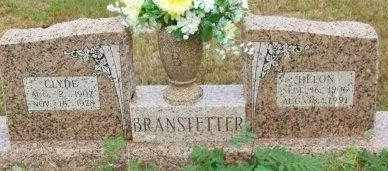 BRANSTETTER, CLYDE - Le Flore County, Oklahoma | CLYDE BRANSTETTER - Oklahoma Gravestone Photos