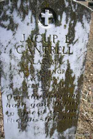 CANTRELL, JACUP L  (VETERAN) - Le Flore County, Oklahoma | JACUP L  (VETERAN) CANTRELL - Oklahoma Gravestone Photos