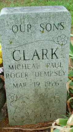 CLARK, ROGER DEMPSEY - Le Flore County, Oklahoma | ROGER DEMPSEY CLARK - Oklahoma Gravestone Photos