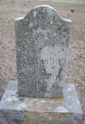 CLINE, BABY - Le Flore County, Oklahoma   BABY CLINE - Oklahoma Gravestone Photos