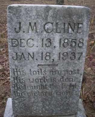 CLINE, J M - Le Flore County, Oklahoma | J M CLINE - Oklahoma Gravestone Photos