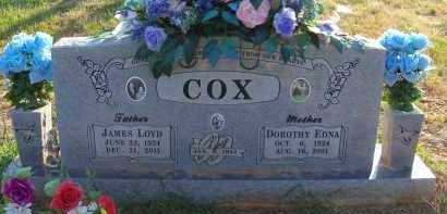 COX, JAMES LLOYD - Le Flore County, Oklahoma | JAMES LLOYD COX - Oklahoma Gravestone Photos