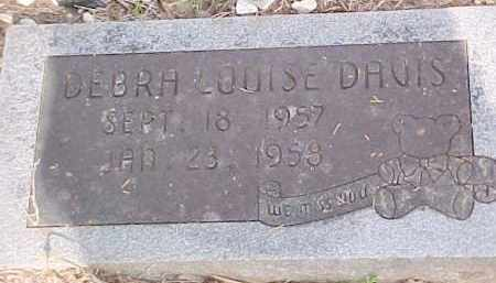 DAVIS, DEBRA LOUISE - Le Flore County, Oklahoma | DEBRA LOUISE DAVIS - Oklahoma Gravestone Photos