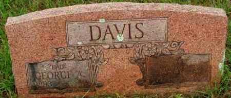 DAVIS, GEORGE A - Le Flore County, Oklahoma | GEORGE A DAVIS - Oklahoma Gravestone Photos