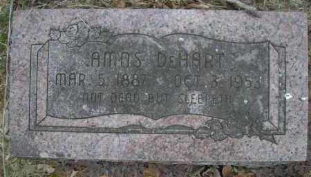 DEHART, AMOS - Le Flore County, Oklahoma | AMOS DEHART - Oklahoma Gravestone Photos