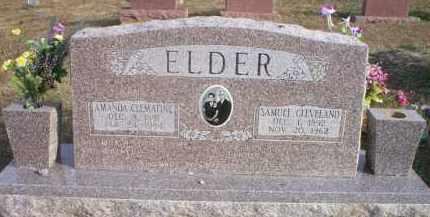 ELDER, SAMUEL CLEVELAND - Le Flore County, Oklahoma | SAMUEL CLEVELAND ELDER - Oklahoma Gravestone Photos