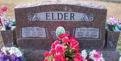 ELDER, V EVA - Le Flore County, Oklahoma | V EVA ELDER - Oklahoma Gravestone Photos