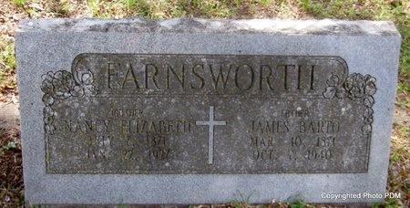 FARNSWORTH, NANCY ELIZABETH - Le Flore County, Oklahoma   NANCY ELIZABETH FARNSWORTH - Oklahoma Gravestone Photos