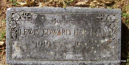 HARTMAN, LEWIS EDWARD - Le Flore County, Oklahoma | LEWIS EDWARD HARTMAN - Oklahoma Gravestone Photos