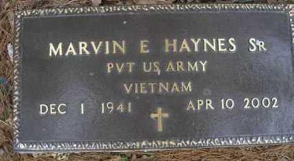 HAYNES   , MARVIN E, SR  (VETERAN VIET) - Le Flore County, Oklahoma | MARVIN E, SR  (VETERAN VIET) HAYNES    - Oklahoma Gravestone Photos