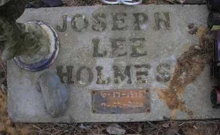 HOLMES, JOSEPH LEE - Le Flore County, Oklahoma | JOSEPH LEE HOLMES - Oklahoma Gravestone Photos
