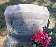 JACKSON, GEORGE W. - Le Flore County, Oklahoma | GEORGE W. JACKSON - Oklahoma Gravestone Photos