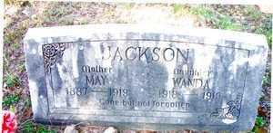 JACKSON, MAY - Le Flore County, Oklahoma | MAY JACKSON - Oklahoma Gravestone Photos