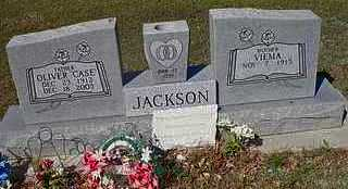 "JACKSON, OLIVER  ""CASE"" - Le Flore County, Oklahoma 
