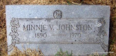 JOHNSTON, MINNIE VIOLA - Le Flore County, Oklahoma | MINNIE VIOLA JOHNSTON - Oklahoma Gravestone Photos