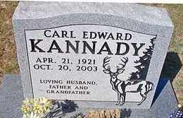 KANNADY, CARL EDWARD - Le Flore County, Oklahoma | CARL EDWARD KANNADY - Oklahoma Gravestone Photos