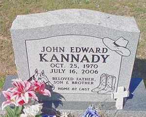 KANNADY, JOHN EDWARD - Le Flore County, Oklahoma | JOHN EDWARD KANNADY - Oklahoma Gravestone Photos