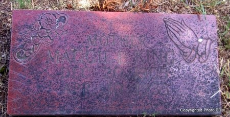 KING, MAGGIE E - Le Flore County, Oklahoma   MAGGIE E KING - Oklahoma Gravestone Photos