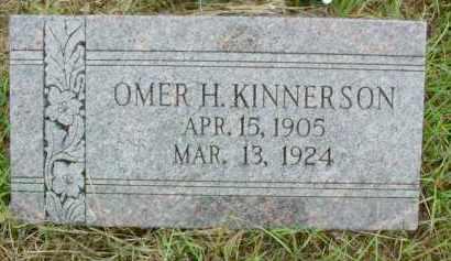 KINNERSON, OMER H. - Le Flore County, Oklahoma | OMER H. KINNERSON - Oklahoma Gravestone Photos