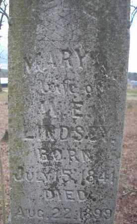 GRIFFIN LINDSEY, MARY ANN - Le Flore County, Oklahoma   MARY ANN GRIFFIN LINDSEY - Oklahoma Gravestone Photos