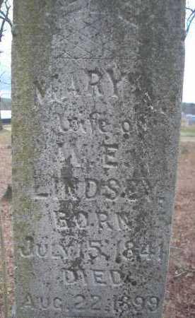 LINDSEY, MARY ANN - Le Flore County, Oklahoma   MARY ANN LINDSEY - Oklahoma Gravestone Photos