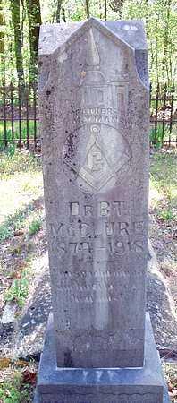 MCCLURE, DR. B. T. - Le Flore County, Oklahoma | DR. B. T. MCCLURE - Oklahoma Gravestone Photos