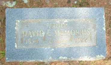 MCMORRIS, DAVID C. - Le Flore County, Oklahoma   DAVID C. MCMORRIS - Oklahoma Gravestone Photos