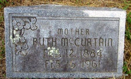 HARRIS MCCURTAIN, RUTH - Le Flore County, Oklahoma | RUTH HARRIS MCCURTAIN - Oklahoma Gravestone Photos