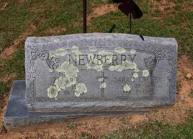 CROSBY NEWBERRY, SARAH - Le Flore County, Oklahoma | SARAH CROSBY NEWBERRY - Oklahoma Gravestone Photos