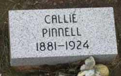 "PINNELL, NANCY CAROLINE  ""CALLIE"" - Le Flore County, Oklahoma | NANCY CAROLINE  ""CALLIE"" PINNELL - Oklahoma Gravestone Photos"