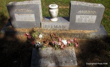 PITMAN, ROBERT R - Le Flore County, Oklahoma   ROBERT R PITMAN - Oklahoma Gravestone Photos