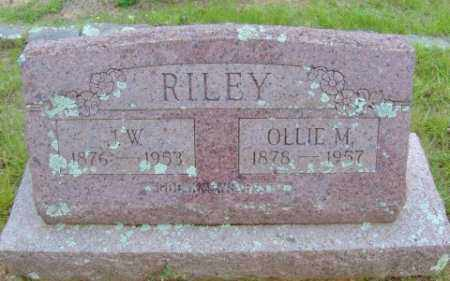RILEY, J.W. - Le Flore County, Oklahoma | J.W. RILEY - Oklahoma Gravestone Photos