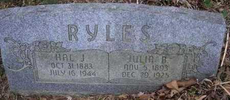 RYLES, JULIA B - Le Flore County, Oklahoma | JULIA B RYLES - Oklahoma Gravestone Photos