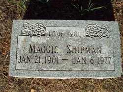 SHIPMAN, MAGGIE LEE - Le Flore County, Oklahoma   MAGGIE LEE SHIPMAN - Oklahoma Gravestone Photos