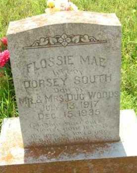 SOUTH, FLOSSIE MAE - Le Flore County, Oklahoma   FLOSSIE MAE SOUTH - Oklahoma Gravestone Photos