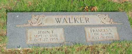 WALKER, JOHN T - Le Flore County, Oklahoma | JOHN T WALKER - Oklahoma Gravestone Photos