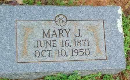 WATERS, MARY J. - Le Flore County, Oklahoma | MARY J. WATERS - Oklahoma Gravestone Photos