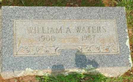 WATERS, WILLIAM A. - Le Flore County, Oklahoma | WILLIAM A. WATERS - Oklahoma Gravestone Photos