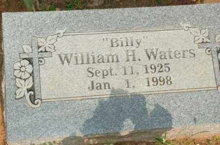 "WATERS, WILLIAM H.  ""BILLY"" - Le Flore County, Oklahoma 