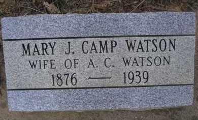 WATSON, MARY J - Le Flore County, Oklahoma | MARY J WATSON - Oklahoma Gravestone Photos