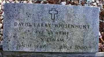 WHISENHUNT   , DAVID  LARRY  (VETERAN VIET) - Le Flore County, Oklahoma | DAVID  LARRY  (VETERAN VIET) WHISENHUNT    - Oklahoma Gravestone Photos