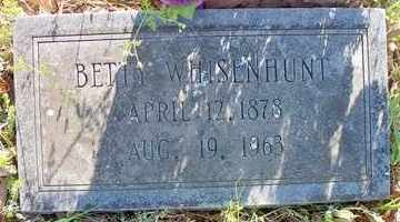WHISENHUNT, BETTY - Le Flore County, Oklahoma | BETTY WHISENHUNT - Oklahoma Gravestone Photos
