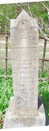 WHITE, EARNEST S. - Le Flore County, Oklahoma | EARNEST S. WHITE - Oklahoma Gravestone Photos
