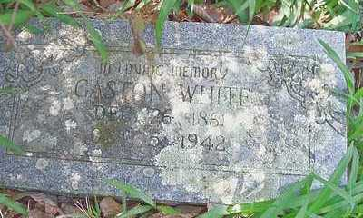 WHITE, GASTON - Le Flore County, Oklahoma | GASTON WHITE - Oklahoma Gravestone Photos